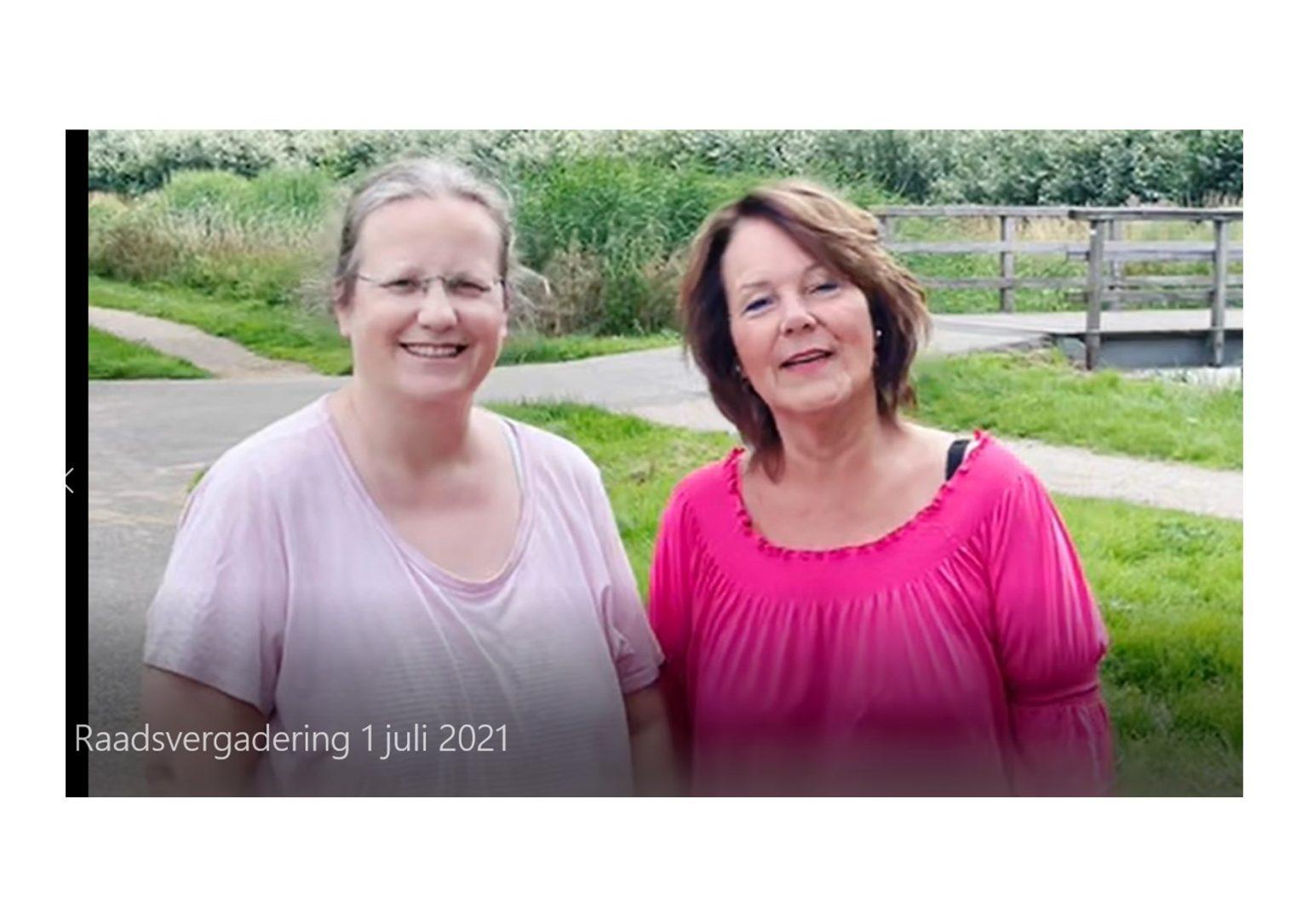 Vlogverslag Raadsvergadering 1 juli 2021