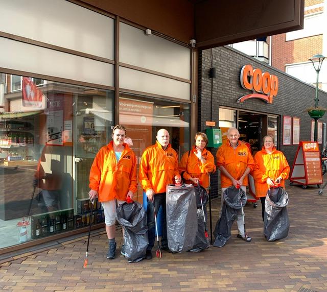 EvR en World Clean-up day