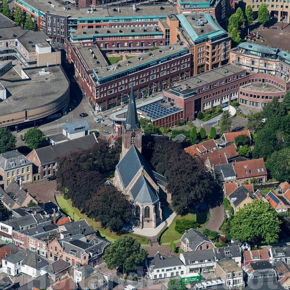 Ridderkerk Centrum met de Singelkerk ID7467